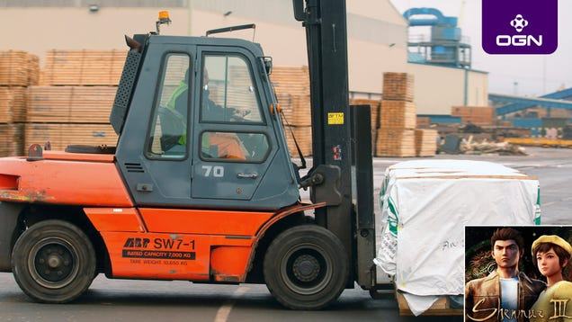 Awesome Tie-In: Thousands Of Dock Workers Across America Have Been Driving Forklifts As An Apparent Shadow Promotion For 'Shenmue 3'