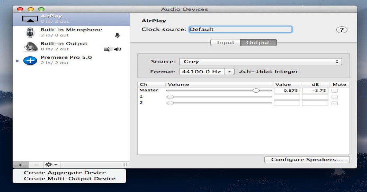 How To Use Multiple Audio Inputs And Outputs In Mac OS X