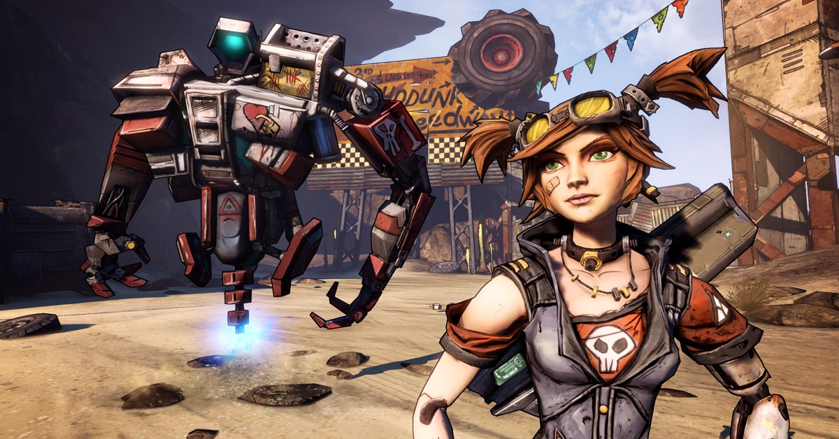 Borderlands 2's Mechromancer Class Might Be Its Best