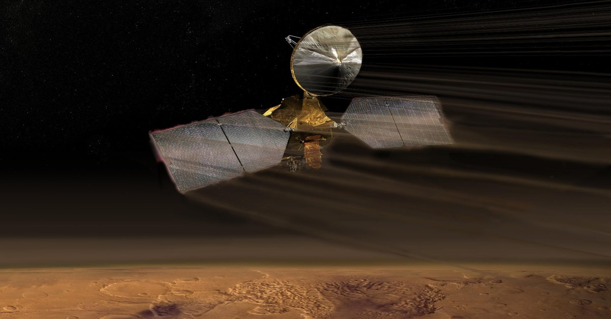 Monster Machines: NASA's Recon Orbiter Is The Most ...