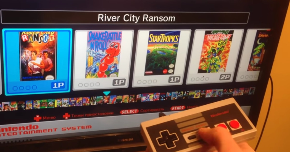 People Have Started Hacking Nintendo's NES Classic And