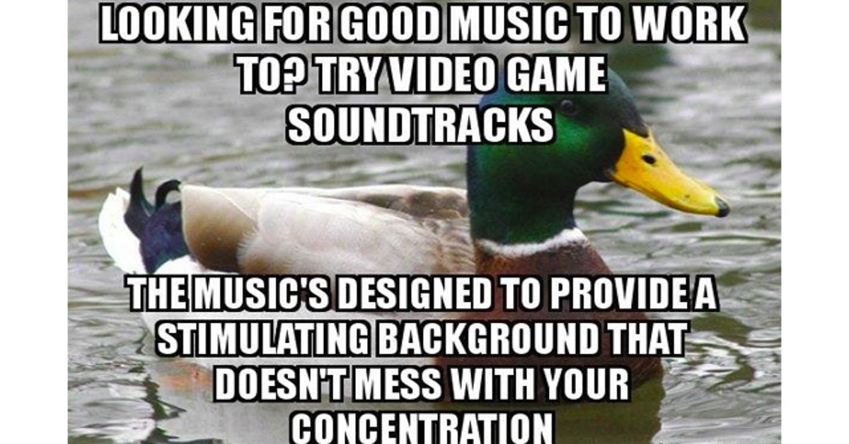 The Best Music To Work Or Study To Could Be Video Game