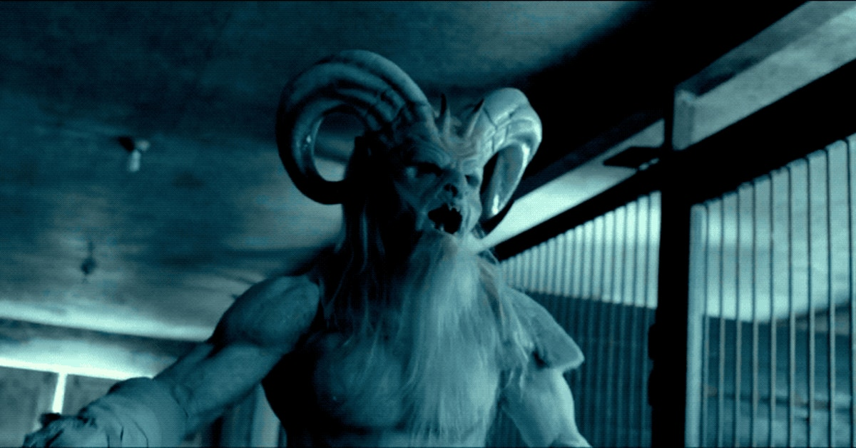 Christmas Horror Story.Krampus Is Less Scary More Sexy In A Christmas Horror Story