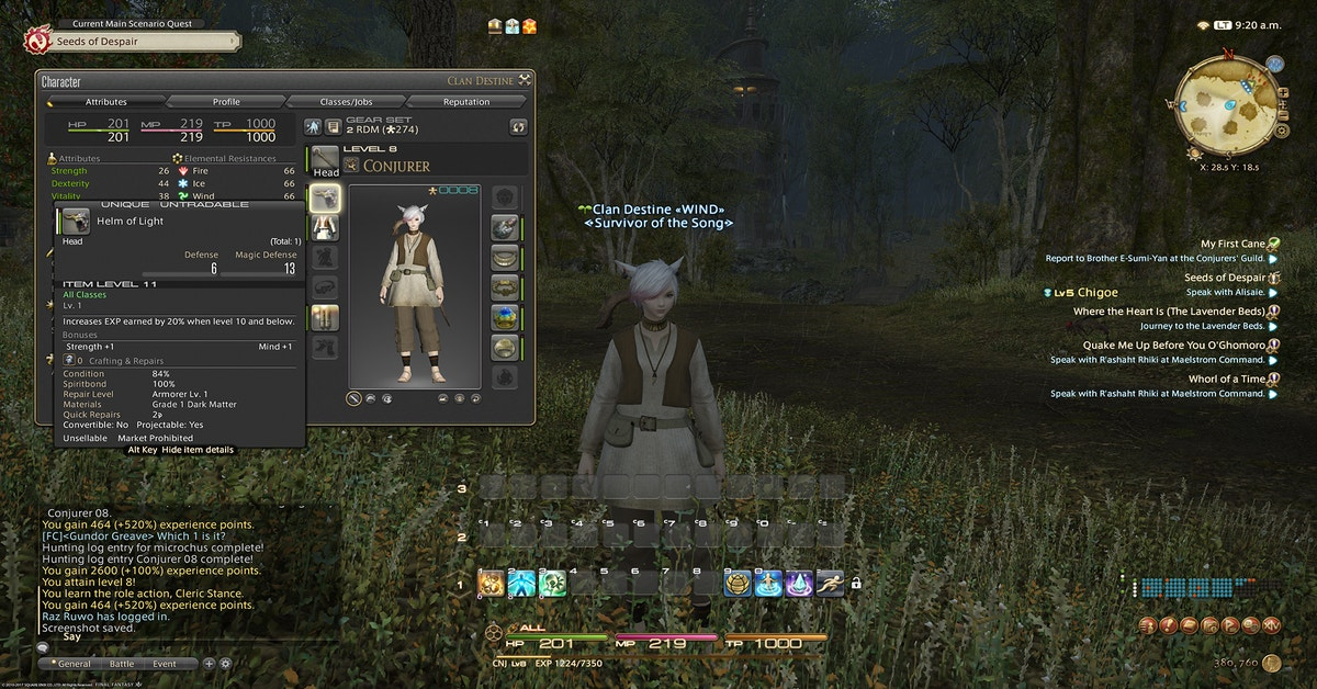 It's A Great Time To Level Up A New Job In Final Fantasy 14