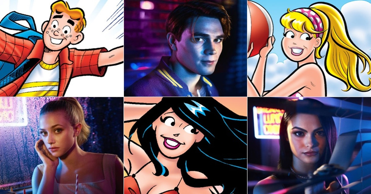 Comparing The Classic Archie Characters To Their Twisted