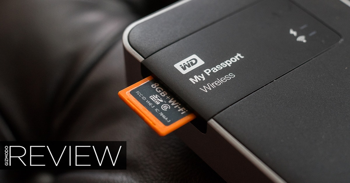 WD MyPassport Wireless Review: A Hard Drive After