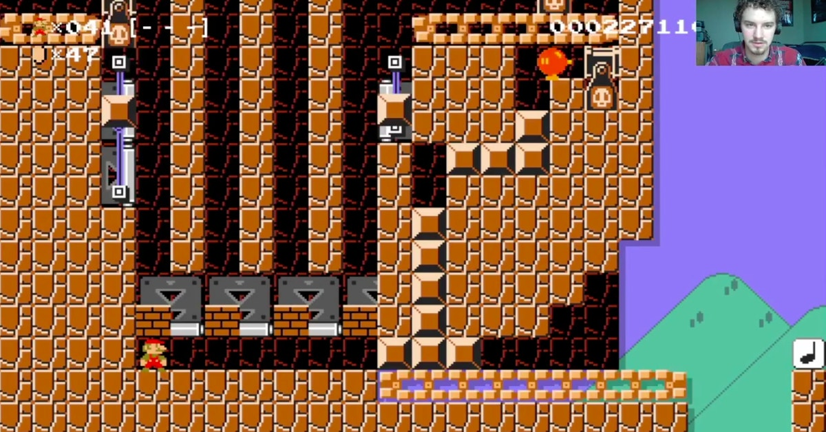 A Clever Mario Maker Level Inspired By Guitar Hero ...