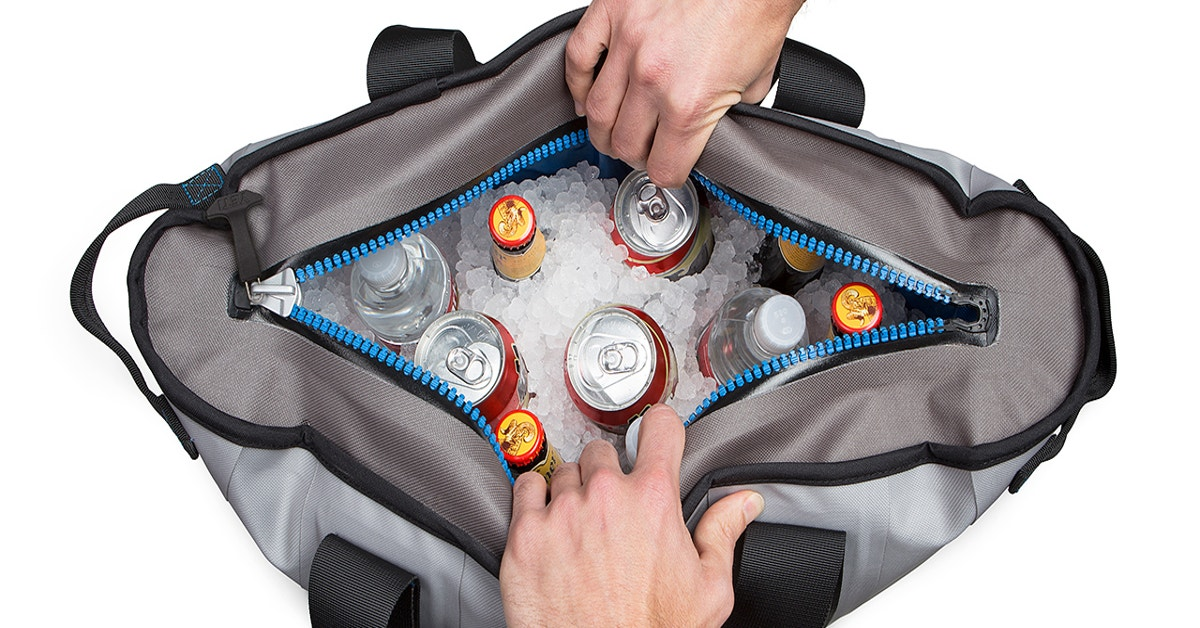 A Shoulder Bag Cooler That Can Keep Ice Frozen For Days