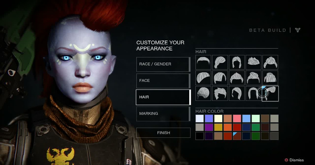 Destiny 2 Human Hairstyles Clearance Shop