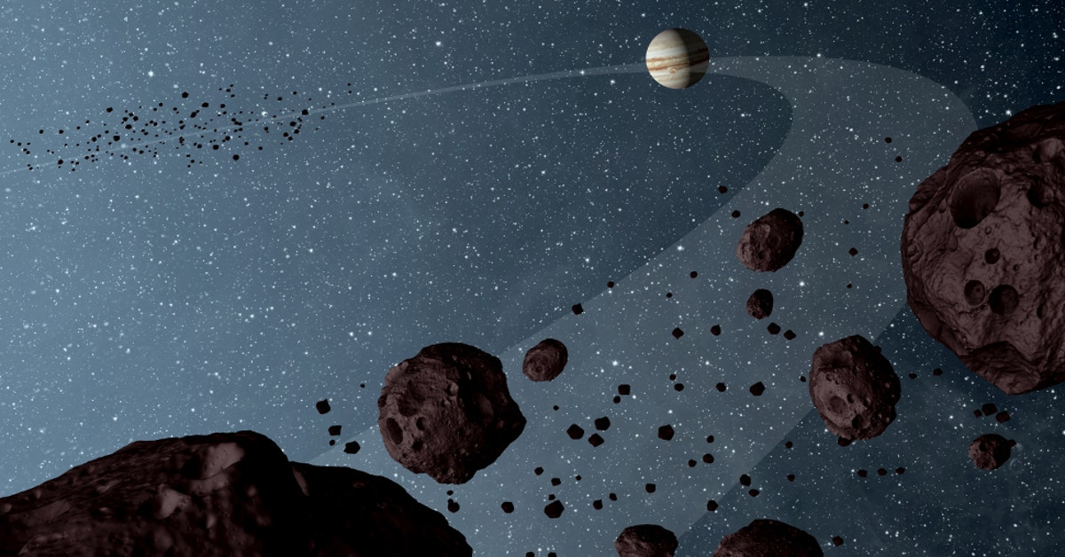 Dust from a giant asteroid crash caused an ancient ice age