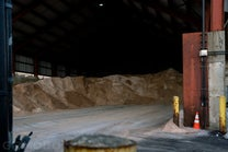 A Peek Inside the Super-Sheds Where NYC Stores Its Mountains of Salt
