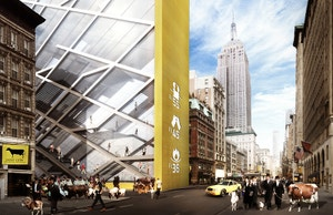 What the Biblical Tabernacle Would Look Like in Midtown Manhattan