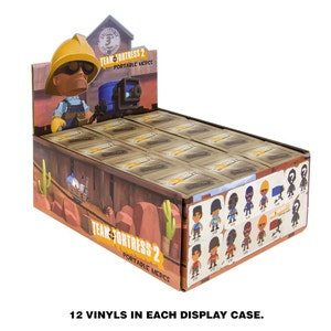Adorable Blind-Boxed Team Fortress 2 Figures
