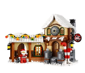 Christmas Comes Early To LEGO Land With Santa's Workshop