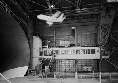 Huge Machines Hurl Artificial Storms Deep Inside This NASA Hangar