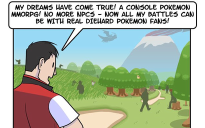 Maybe A Pokémon MMO Wouldn't Be As Awesome As We Think | Kotaku