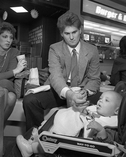 The Lonesome Crowded Shopping Malls of the 1980s