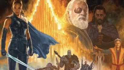This Thor Ragnarok Art Is Like The Drew Struzan Poster We