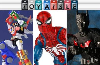 The Ps4 Spider Man Heads To Your Toy Shelf And More Of