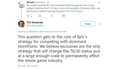 Epic's Founder Explains Why The Company Is Going So Hard On