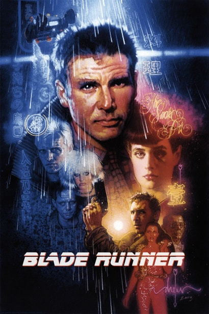 You Can Now Own Drew Struzan S Blade Runner Poster That Was Nearly