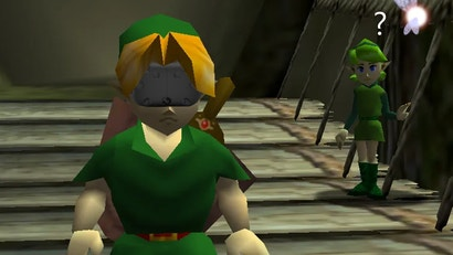 Someone Spent 24 Hours In VR The Legend Of Zelda: Ocarina Of Time
