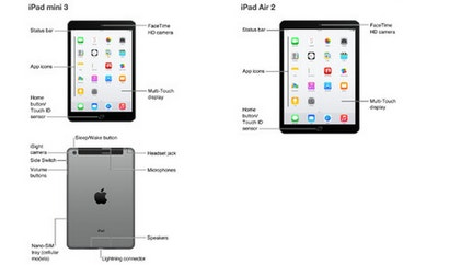 ITunes Leak Shows Touch ID-Equipped iPad Mini 3 and iPad Air 2