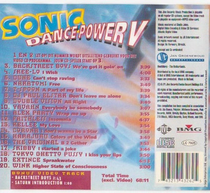90s Sonic The Hedgehog CDs Were Pretty Sexual