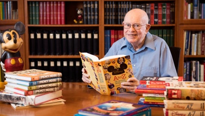 Dave Smith, The Founder And First Head Of The Walt Disney Archives, Has Passed Away