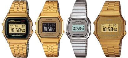 Casio Taps the 1980s for Its Retro Line of Smart (Looking) Watches