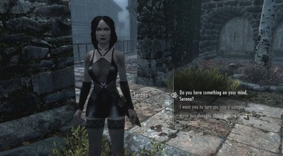 Skyrim porn movie xbox one mods 2 succubus bitches gets their midnight snack - 4 4