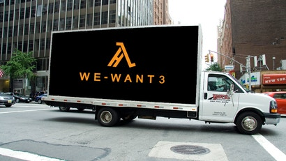 Ad Agency's Half-Life 3 Campaign Is A Terrible Idea