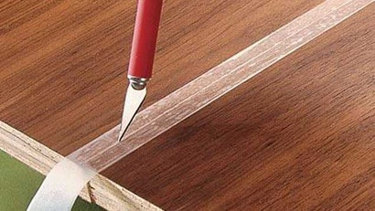 Protect Your Wood From Nasty Glue Overflow with Tape