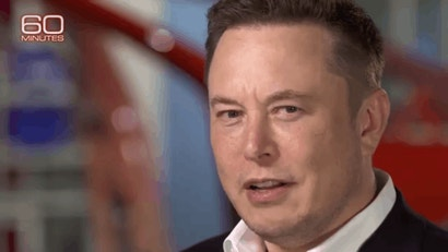7 GIFs Of Elon Musk Having A Normal One On 60 Minutes