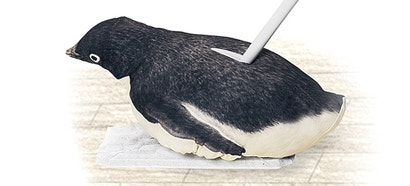 Mopping Is No Longer a Chore With a Penguin Gliding Across Your Floor