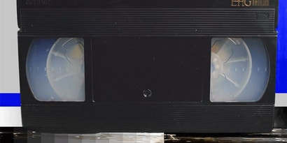 Watching A VHS Tape Melt Is Like Seeing Obsolescence Happen In Real Time