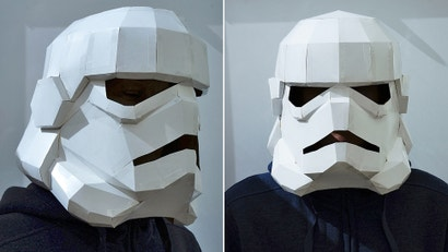 Got an Empty Cereal Box? You Can Easily Make a Slick Star Wars Costume