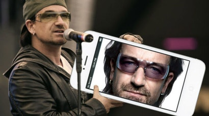 Bono Has Apologised About Putting U2 in Your iTunes