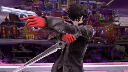 Smash Ultimate's Joker Is A True-To-Form Tightrope Act