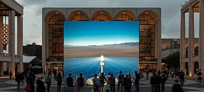 NYC Is Home to a Hyper-Real Simulation of a Massive Nevada Solar Plant
