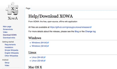 XOWA Makes It Easy To Download Wikipedia For Offline Reading