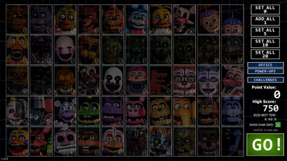 Ultimate Custom Night Will Keep Five Nights At Freddy S