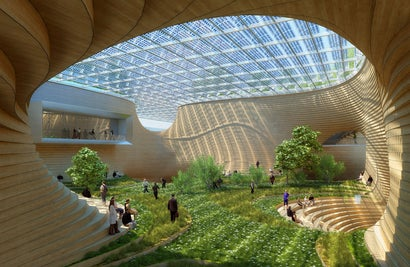 This Futuristic Megamall Wants to Make Shopping Eco-Friendly