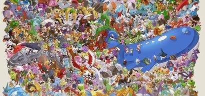 721 Pokemon, 21 Days, 132 Hours