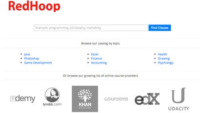 Search All The Major Online Course Providers In One Place With RedHoop