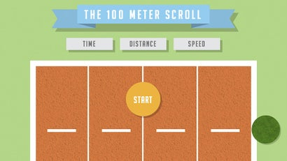The 100m Scroll Turns Browsing Into An Olympic Sport (One Day)