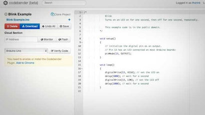 CodeBender Makes It Easy To Program Your Arduino From A Browser