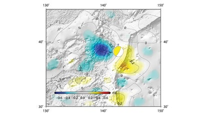 The Fukushima Earthquake Actually Changed Earth's Gravity