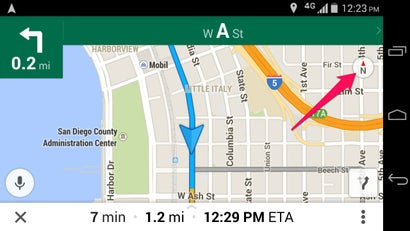How to Toggle First-Person View in Google Maps Navigation