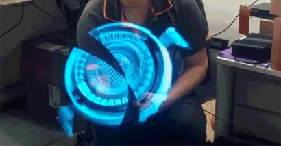 This Floating 3D Hologram Looks Like It Was Stolen From Tony Stark's Laboratory